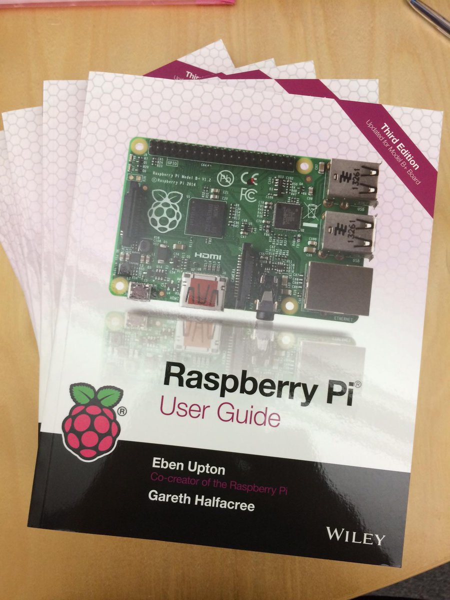 Eben Upton at #makerfaire now! retweet for chance to WIN 1 of 5 copies of his book! Winners picked 5/18 #raspberrypi http://t.co/c4AuoWeZmG