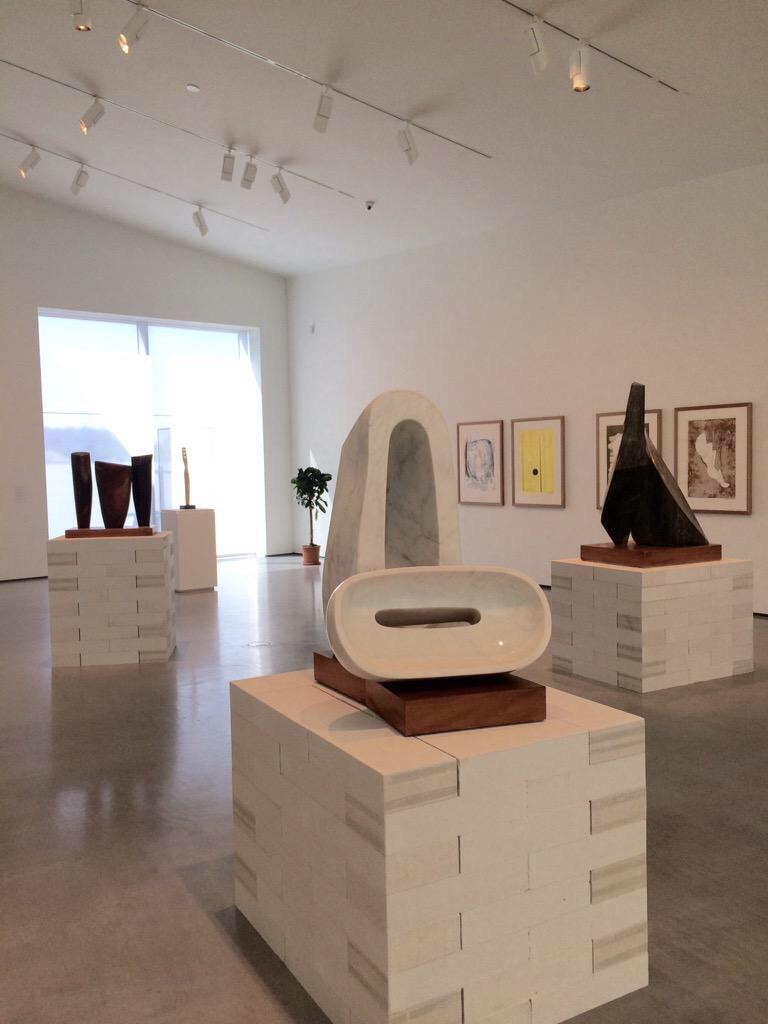 Now open! Our new Barbara Hepworth exhibitions focus on her early life in #Wakefield & her last decade. Free entry. http://t.co/mu7JSvrVCb