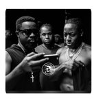 @Sarkodie showing Nigerian Jollof to @acehood http://t.co/orVhqaU7QX