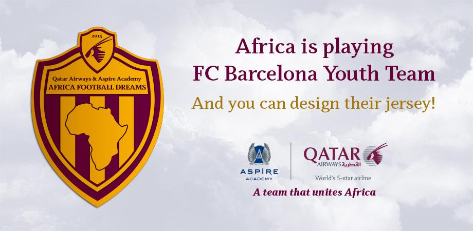 Show us your best Football jersey design - you could win QatarAirways Business Class tickets.