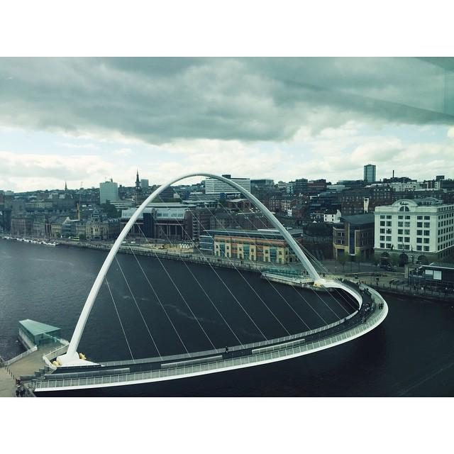 #InstaSize Millennium Bridge #newcastle http://t.co/u6o2hAP6GX http://t.co/xwRtPJqtHM