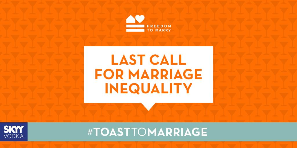 Share this to support marriage for all #ToastToMarriage #LoveMustWin #SCOTUS http://t.co/lseusC6SHS