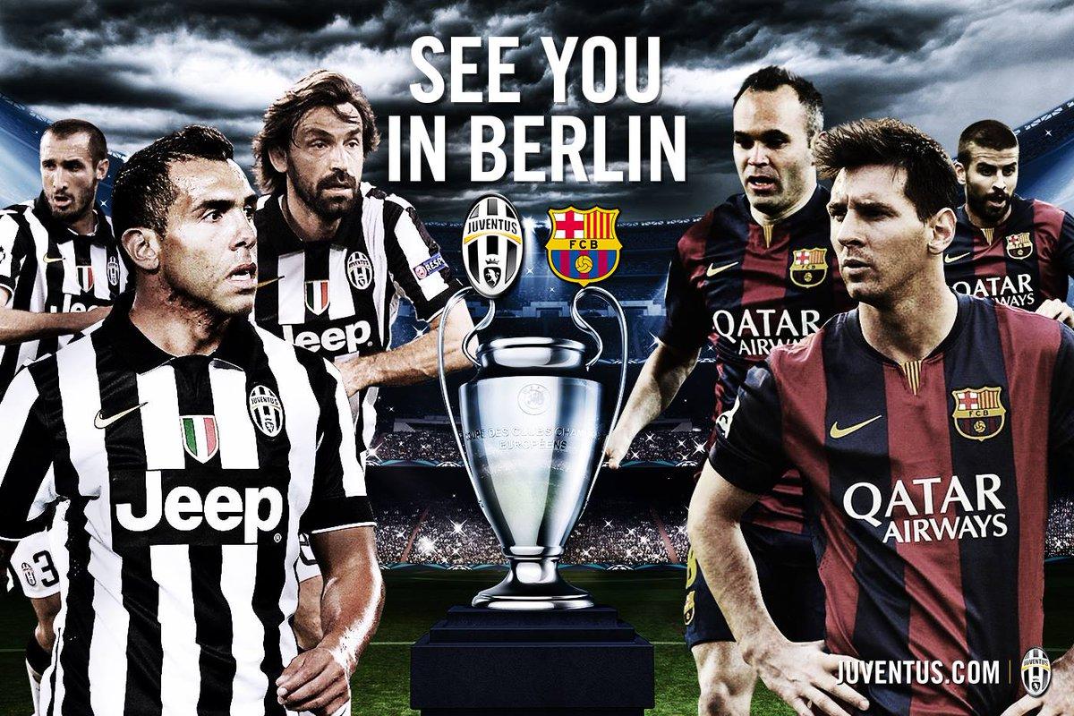 Felicitacions @FCBarcelona per la vostra victòria a la @LaLiga! Esperem veure-us a Berlín per la #UCLfinal!  #UCL http://t.co/p2yLrefhYB