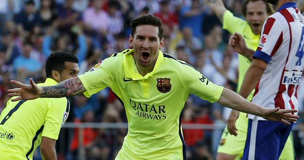 Two words: Lionel Messi. ❤ #fcblive http://t.co/TbEWjgfV9p