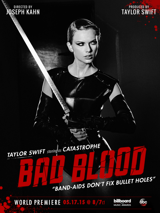 Who's ready to be SLAYED by Catastrophe aka Samurai Swift aka Slaylor! #BadBloodMusicVideo #BBMAs on @ABCNetwork 8/7c http://t.co/s299DxODgA