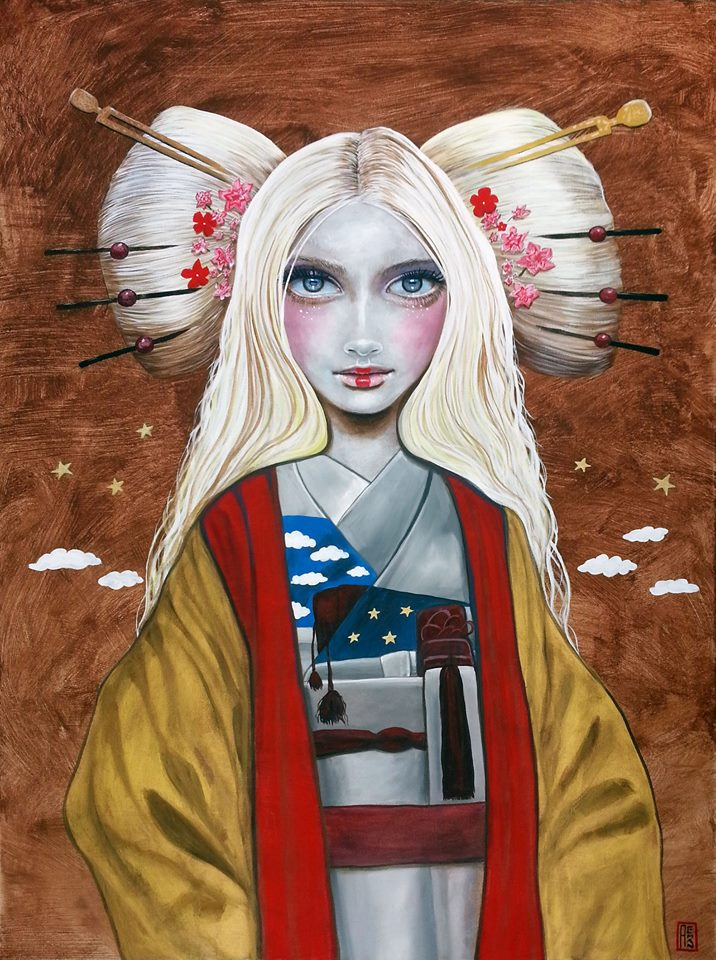 I just finished 'American Geisha No. 2' © 2015 Carlos Aleman http://t.co/TrJXIFDT5Z