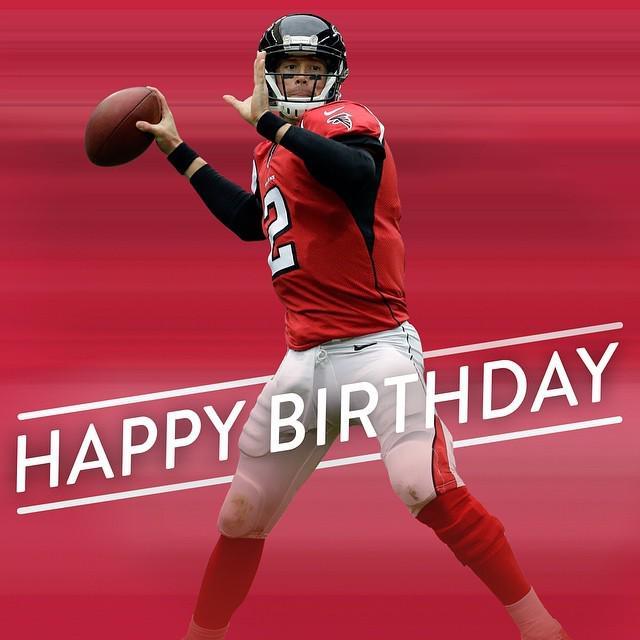 Matt Ryan S Birthday Celebration Happybday To