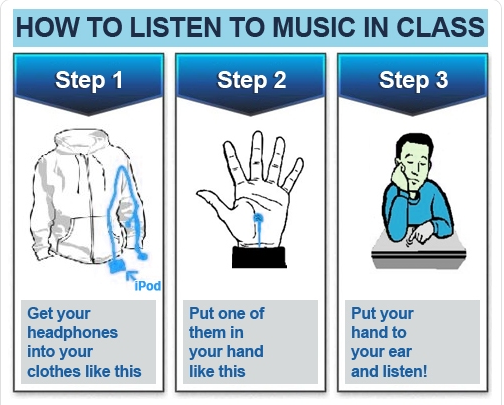 How to Listen to Music in Class: http://t.co/Pu61oVyoMi