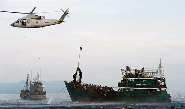 Myanmar, göçmen sorunu için toplantıya yanaşmıyor http://t.co/owBaQbGQN7 http://t.co/O0FeiYGbnk