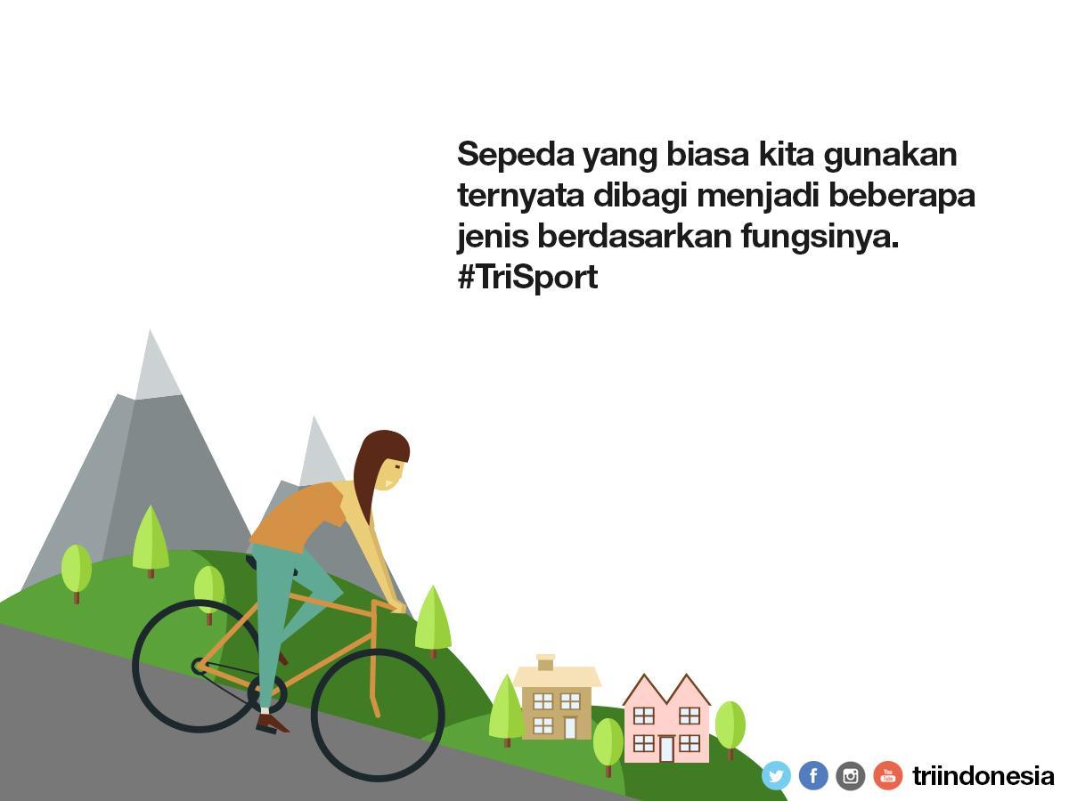 Beberapa Jenis Sepeda Berdasarkan Fungsi Dan Kegunaannya - AnekaNews.net