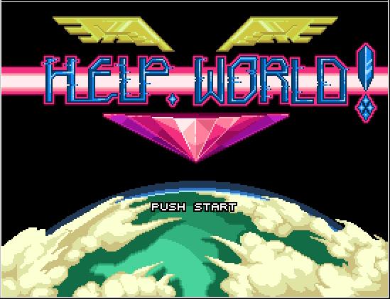 WHAT'S IN?に掲載されているファミコン風ゲーム「Help,world!」は、BUMP OF CHICKEN「Hello,world!」MVの撮影の待ち時間のために東市篤憲が、誰に頼まれもしないのに勝手に本気で遊んで作りました。 http://t.co/2tZn0v0F0U