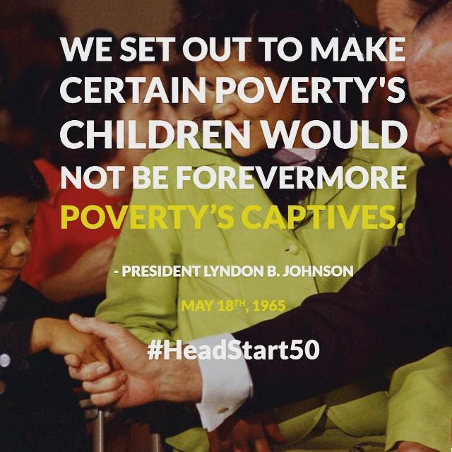 50 years ago today, President Johnson announced Project Head Start! #HeadStart50 via Insta… http://t.co/vKA4jZkldB http://t.co/9UZOIFixw7