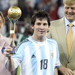 8 DAYS TO GO: Lionel Messi was involved in 8 goals (6 goals, 2 assists) at the 2005 #U20WC. http://t.co/aGQouuHeXh
