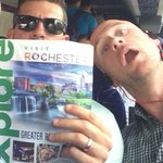 @jparencibia9: Learning about what Rochester has to offer... @C_Brown813 looks very interested. #PlayBetter.com http://t.co/UJaMMhGI5F
