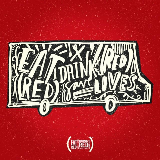 We're turning #RED June 2015! @RED #86AIDS #EatRedDrinkRed