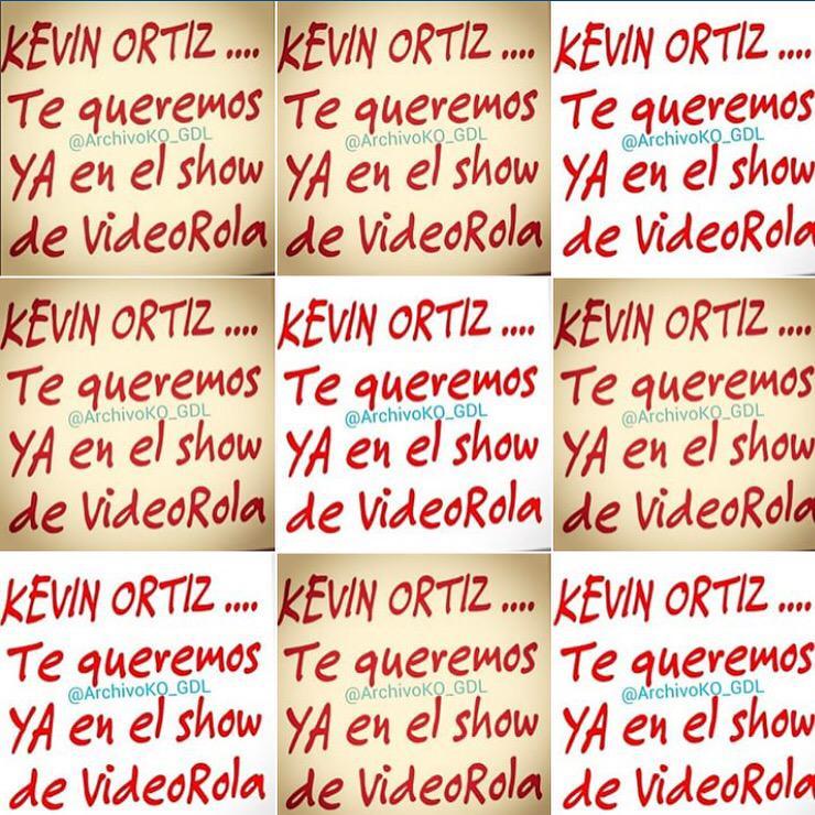 @KevinOrtizNet tienes un mensaje urgente de @archivoKO_GDL #TeQueremosYaEnElShowDeVideoRola @videorolavr http://t.co/27S6fwgSE7