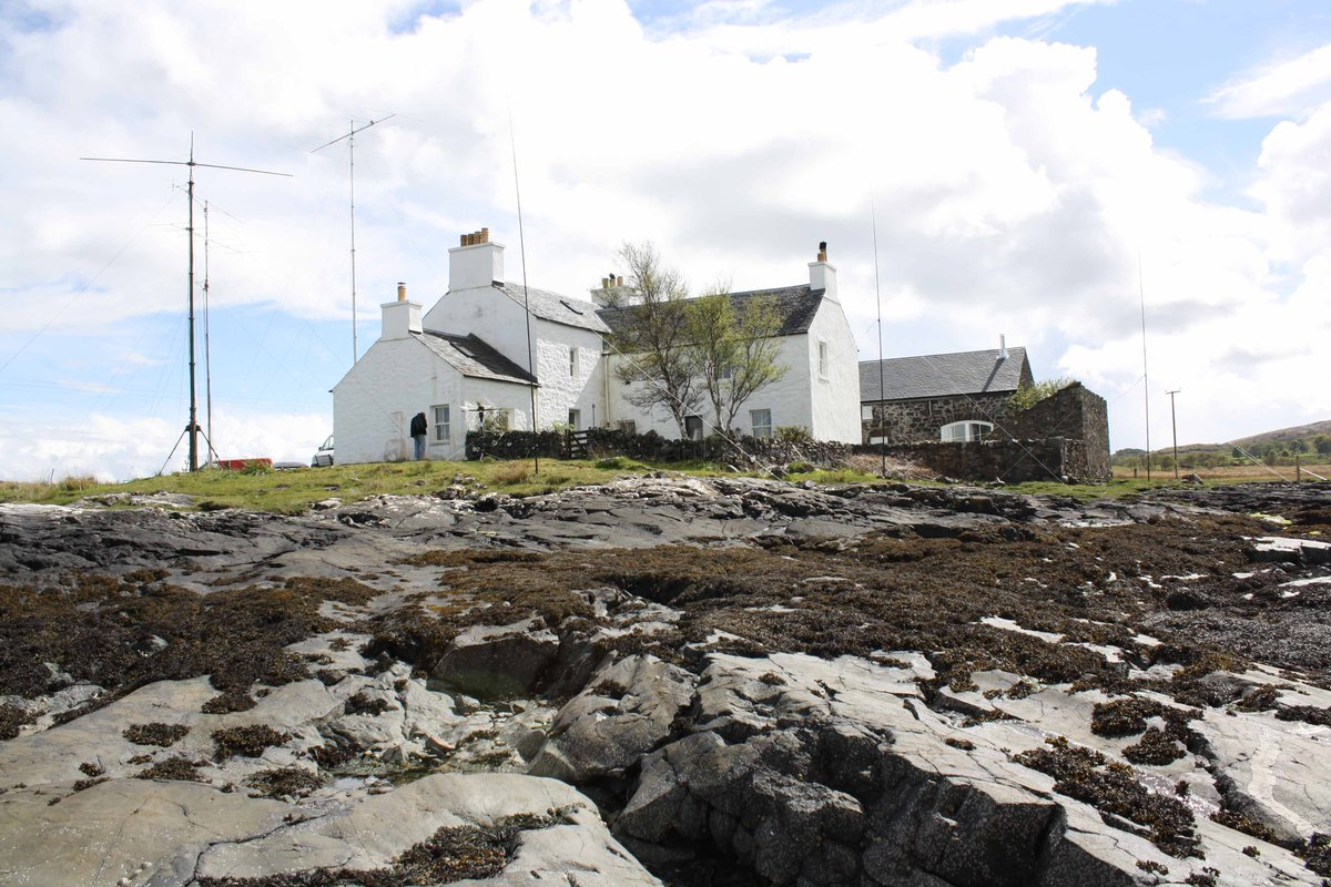 Couple of photographs of the QTH on the Isle of Mull. http://t.co/zCzQibtTGr
