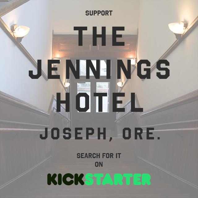 Please support this great Kickstarter project restoring an old hotel in Joseph, Oregon. http://t.co/lxdt7ALUYA http://t.co/uDHr5B5OE1