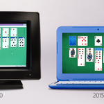 Celebrating 25 years of flipping cards on your PC. #Solitaire #Windows