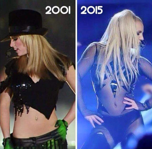Last nights ratings from the Billboard music awards were its highest since 2001. Britney performed in both of them. http://t.co/ZAy6sqy2PT