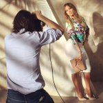 #BTS from my spring/summer @Kohls collection. Get this look now at http://t.co/HnQ5DPrhrf #JenniferLopezCollection