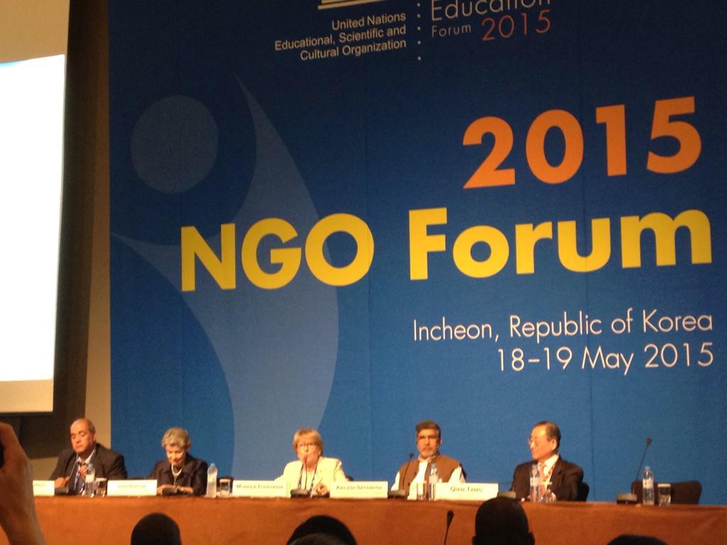 """We need millions more qualified teachers"" @UNESCO DG Irina Bokova #WorldEducationForum http://t.co/Z06LSA9ehz"