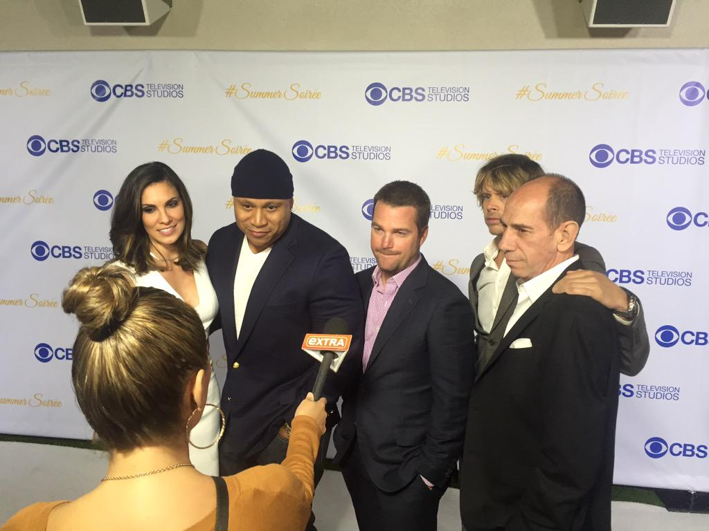 The cast of #NCISLA hits the white carpet #CBS #SummerSoiree http://t.co/chIt5W4Q8e