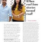 #TuesdayNostalgia A feature on Reel-Real couples from the Kollywood contributed by @journomalini in SS Feb 2015 issue http://t.co/GhObdHqccC