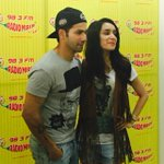 RT @sappysnappy: @Varun_dvn @ShraddhaKapoor @ABCD2Film Thank you for indulging our madness yet again @Mirchimumbai @Mirchi983FM http://t.co…