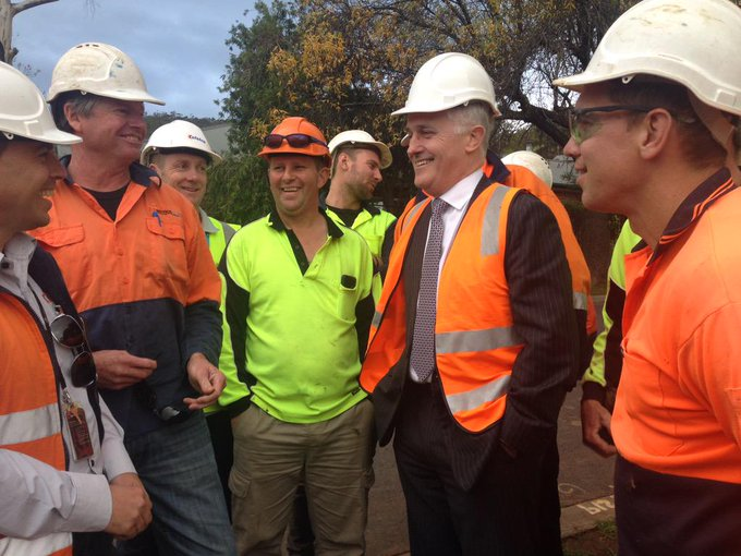 At Torrens Pk w @asouthcottmp where NBN has begun build prepn on new site covering 2800 premises  #commsau http://t.co/Y89gYYD3rl