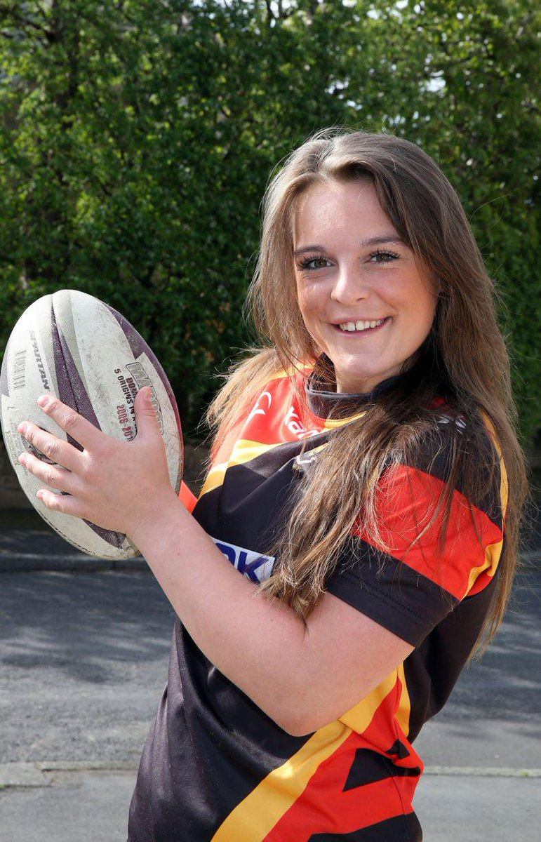 Huddersfield rugby league player amy gilbert selected for england ...