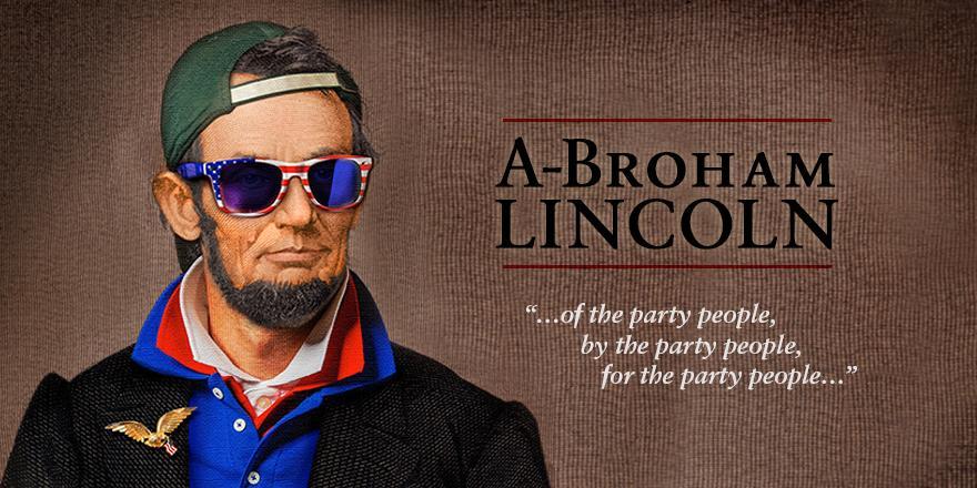 Abe wasn't slamming protein shakes, he was gettin' presidential w/ P3: The Original Protein. http://t.co/roWK0mH0Jq http://t.co/Ij7DOAecak