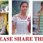 RT @naveen_tv5: PLEASE SHARE... these girls missing in guntur... pls contact that num...thanq.. @vennelakishore