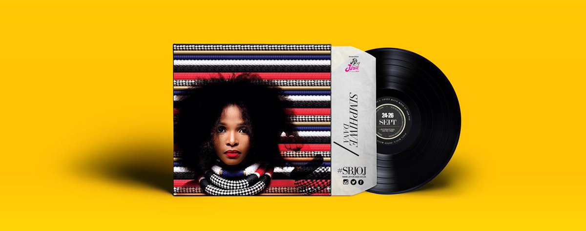 Still on the line up, you surely love and celebrate her; on the line up #SBJOJ @simphiwedana http://t.co/cIWptwBHBO