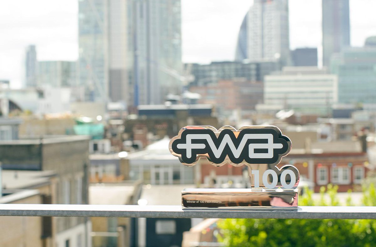 We are absolutely thrilled to be one of only two companies in history to join the FWA100 Club http://t.co/ypeJyaqC8c http://t.co/9M1IWzrvEo