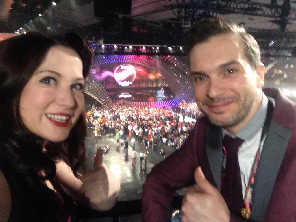 Good luck to all taking part in the Semifinals love @ElectroVelvet xxx http://t.co/g6VqpXFrha