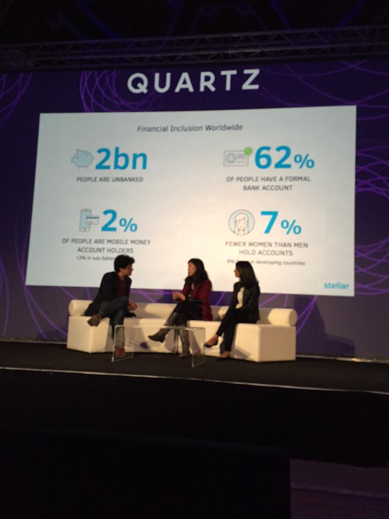 Worldwide, 2% people are mobile money account holders. 12% in sub-Saharan Africa #qznextbillion @joyce @shivsiroya http://t.co/QIC5s4Updr
