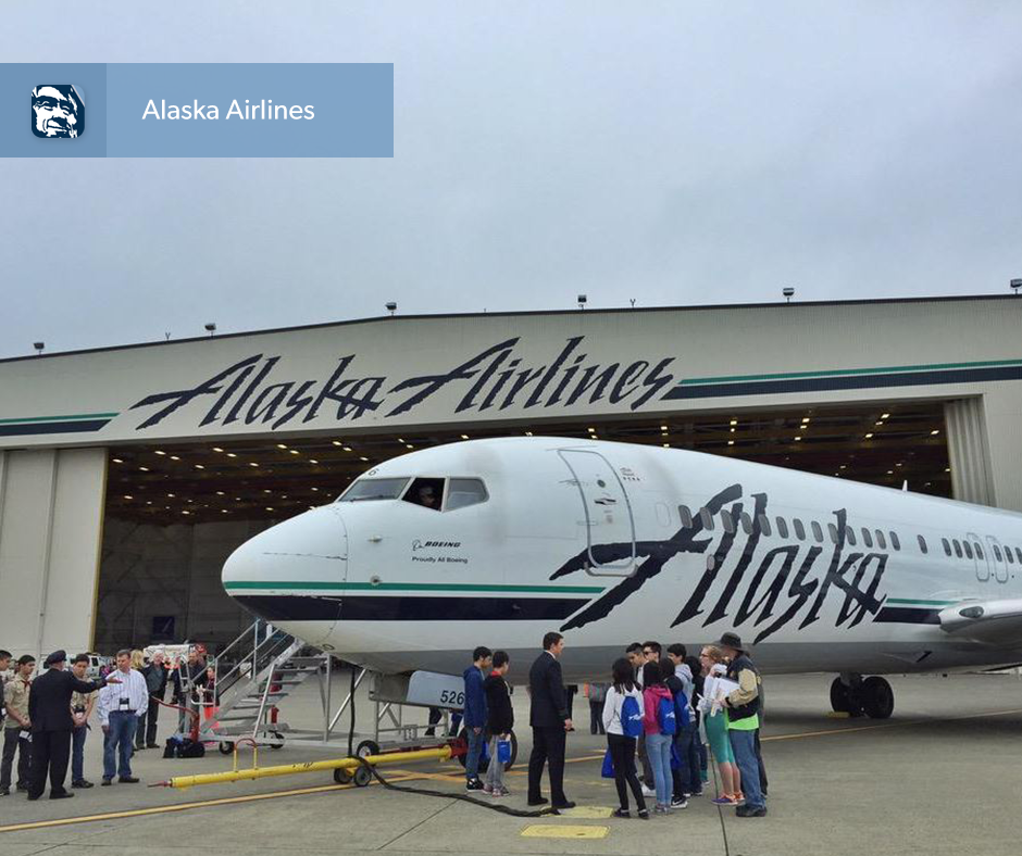 .@AlaskaAir prepares the next generation of aviation with its 7th annual Aviation Day: