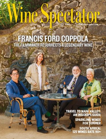 Francis Ford Coppola talks about his wine estate in @WineSpectator. Get the issue here: http://t.co/nO5gOvPiG3 http://t.co/SsdG9MskH4