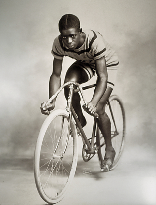 Today in #Transportation History, 1897: Marshall 'Major' Taylor wins in 1-mile open professional #bicycle race in MA. http://t.co/ZnqPyy2swj