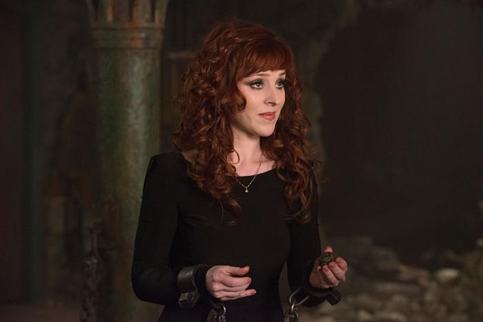 """#Supernatural's @RuthieConnell Talks Rowena/Crowley Relationship, """"Dramatic"""" Season 10 Finale: http://t.co/FV10btwsJM http://t.co/YA8hTrAFkX"""