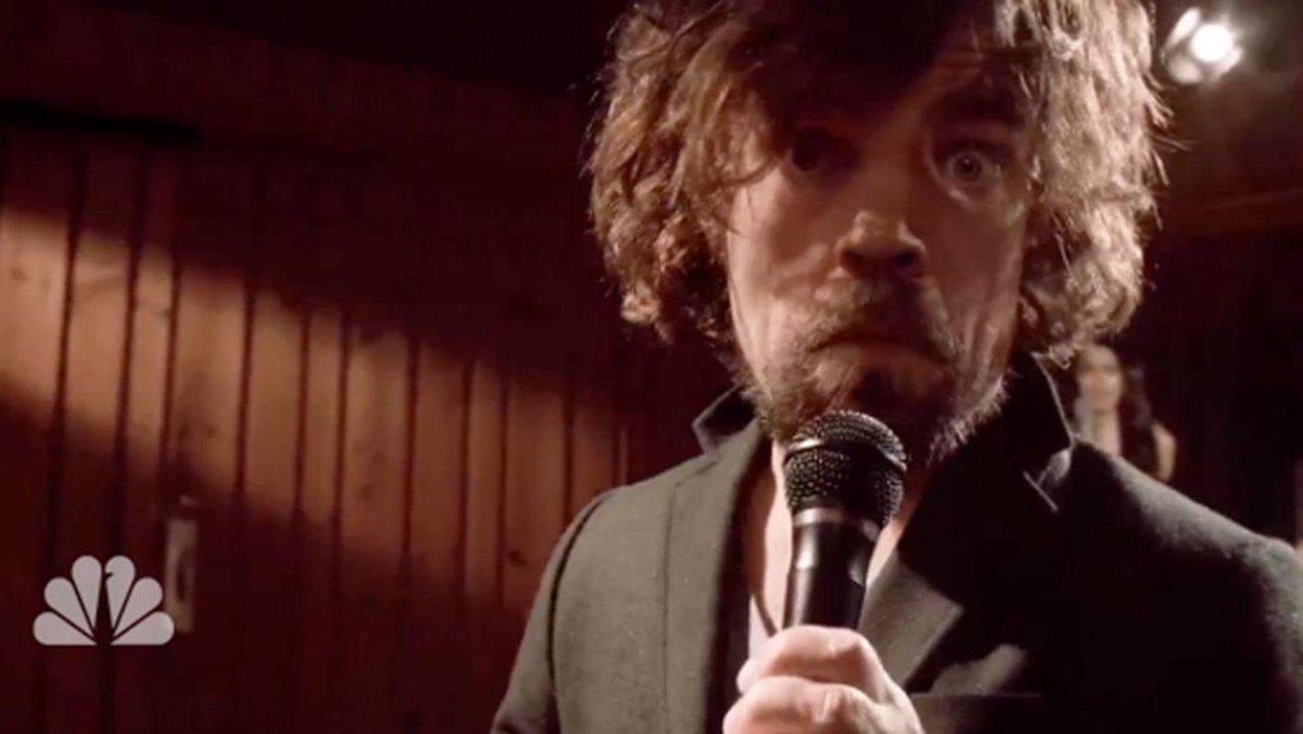 Peter Dinklage Mocks Joffrey in 'GameofThrones: The Musical' (Video)