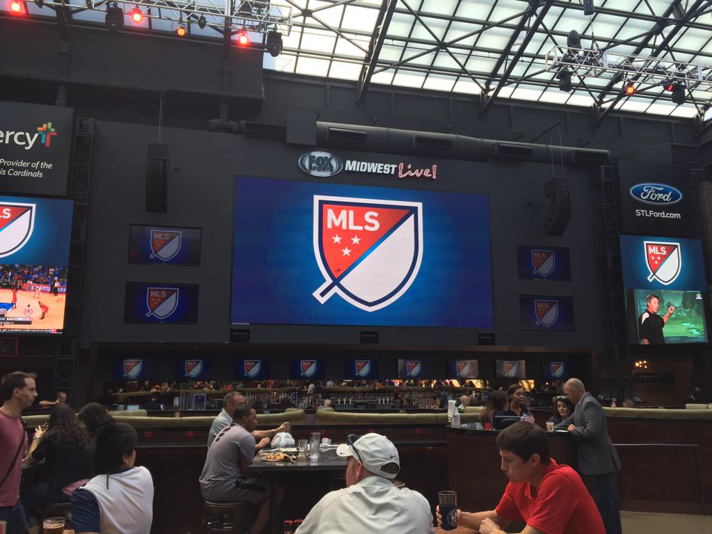 We here: #MLSinSTL event at @BPVSTL http://t.co/FiS9sYL4AI