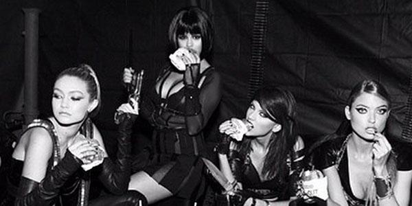 We're going behind the scenes of Taylor Swift's BadBloodMusicVideo � join us, won't you?