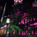 Sydney Town Hall maroon on State of Origin night. Is it a sign - a very Vivid one? #Origin #vividsydney http://t.co/tH1sAj2P3w