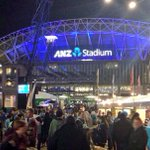GATES are open @ANZStadium! But the party is still building outside in @olympicpark_syd so make your way down! http://t.co/FQauQn2I4c