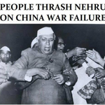 #RememberingNehru As he was beaten up by Indians after China War lost http://t.co/zhtei0dxxs