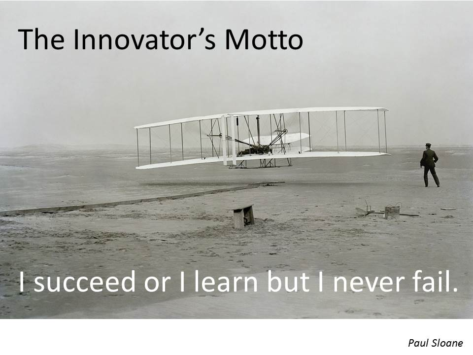 The Innovator's Motto. #entrepreneur #startup #business #quotes  https://t.co/D1rlphPsNv