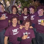 HERES trouble! Plenty of proud @QLDmaroons supporters out @ANZStadium tonight! #ORIGIN http://t.co/pPOg6rwqEt
