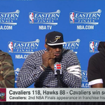 """Im a guy who believes in unfinished business"" - @KingJames is #LIVEonSC http://t.co/u4ZQtxnliQ"
